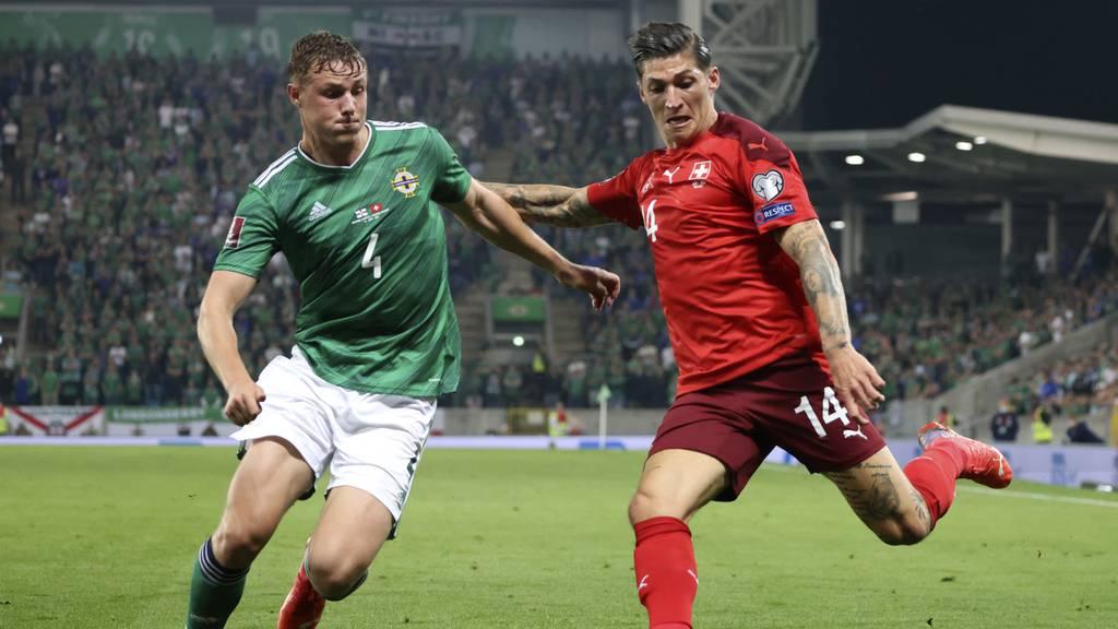 Schweizer Nati gewinnt mit 2:0 gegen Nordirland