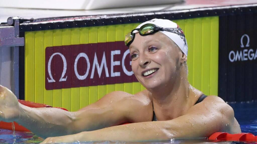 Strahlen aus gutem Grund: Maria Ugolkova schwimmt derzeit von Rekord zu Rekord.