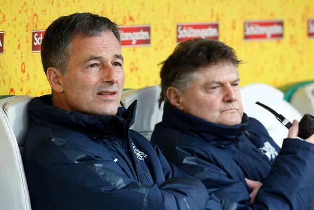 Thomas Bickel (l.) und Ancillo Canepa (r.), aber wer ist der wahre Sportchef beim FC Zürich?