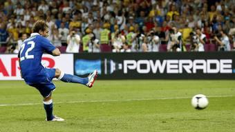 Italien gewinnt gegen England im Penaltyschiessen