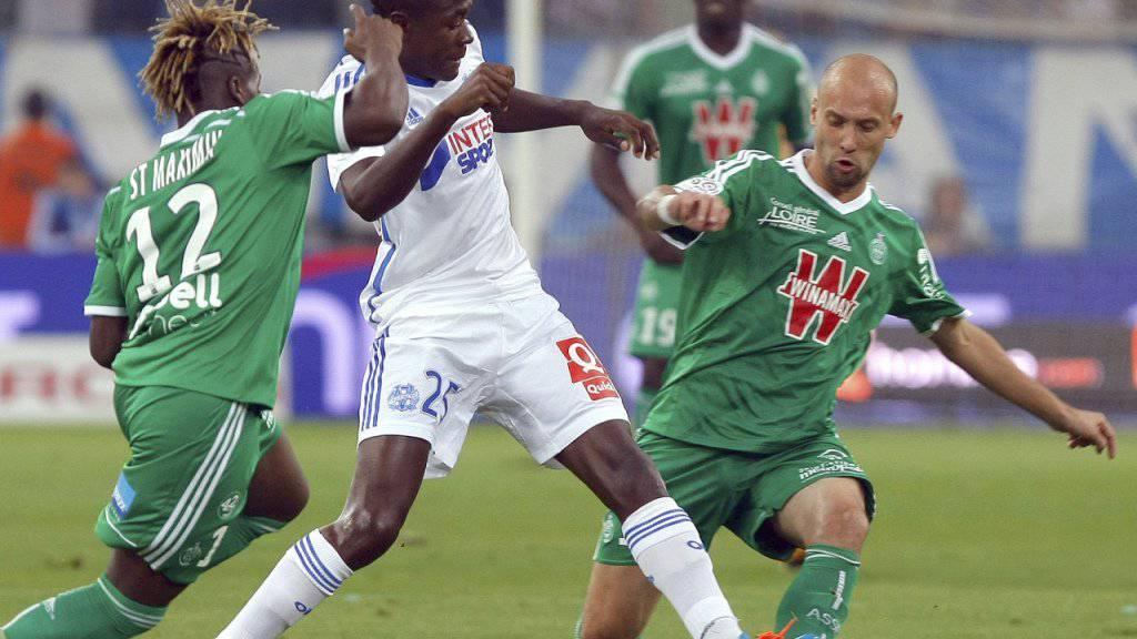 Olympique Marseille trumpfte zuhause gegen Saint-Etienne gross auf und kam wieder einmal zu einem Sieg