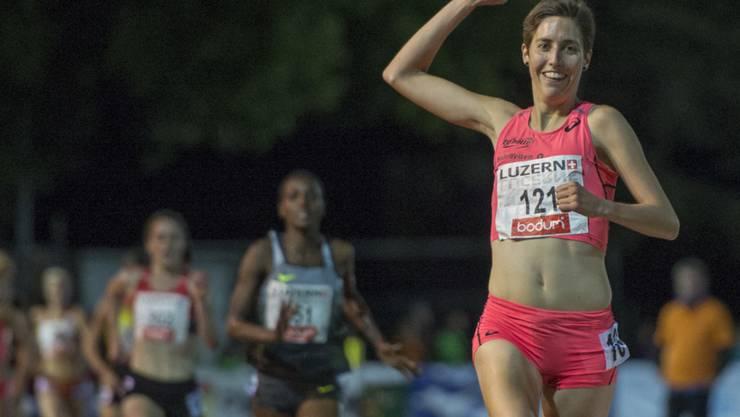 Fabienne Schlumpf schafft die WM-Limite über 3000 m Steeple