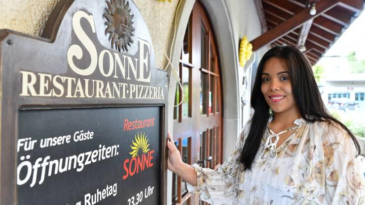 In Italien hat Frida Bilmania-Boracco eine Gastronomie-Schule absolviert. Nun macht sie sich in Lostorf selbstständig.