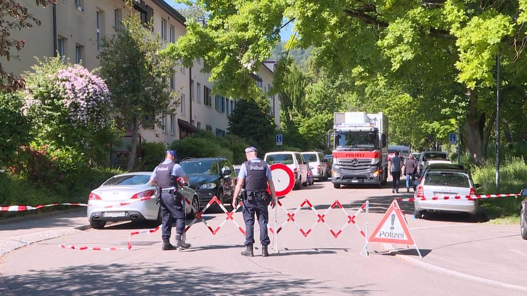 Polizei-Grosseinsatz in der Stadt Zürich