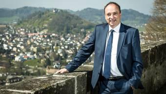 Regierungsrat Markus Dieth ist 100 Tage im Amt