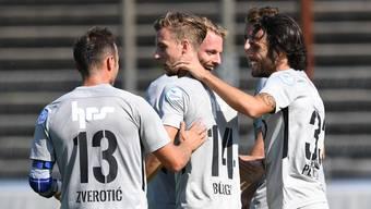 Testspiel FC Aarau - SC Freiburg II (04.09.2018)