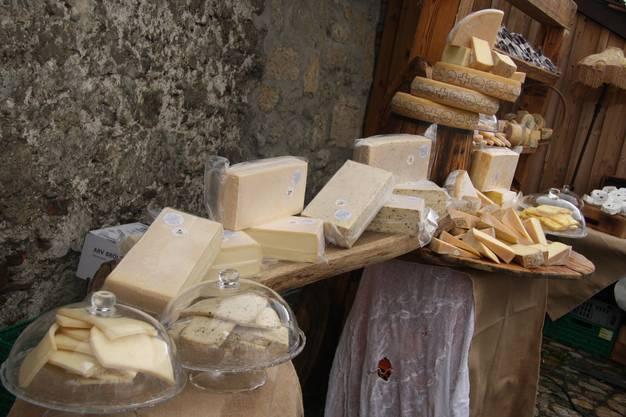 Am Chästag angebotener Käse