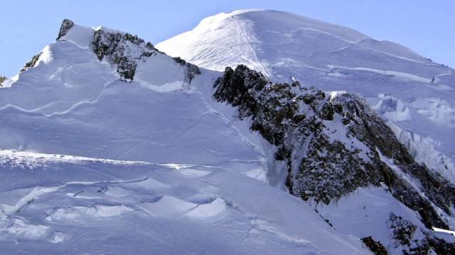 Der Mont Blanc, der höchste Berg Westeuropas (Symbolbild)