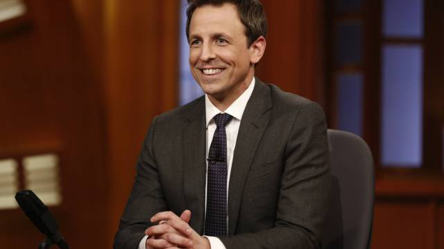 Einflussreich: Komiker und Talkshow-Moderator Seth Meyers (Archiv)