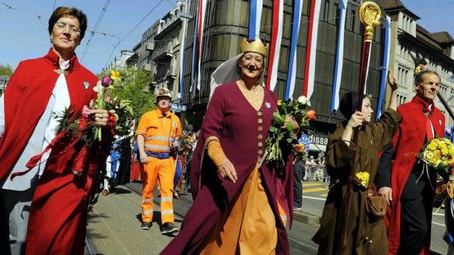 Nach 2011 zum 2. Mal beim Herren-Zug dabei: Frauenzunft (Archiv)