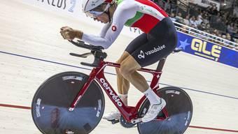 Claudio Imhof im Oktober bei den Europameisterschaften in Berlin