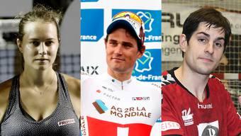 Finalistin in Acapulco: Stefanie Vögele. In Paris–Roubaix auf dem Podest: Silvan Dillier. Vor Ligaerhalt: TV Endingen (Chr. Riechsteiner)