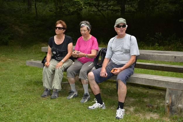 Abendwanderung von Messen durch den Bucheggberger Wald zum Forsthaus Messen und zurück mit 32 Teilnehmern 26