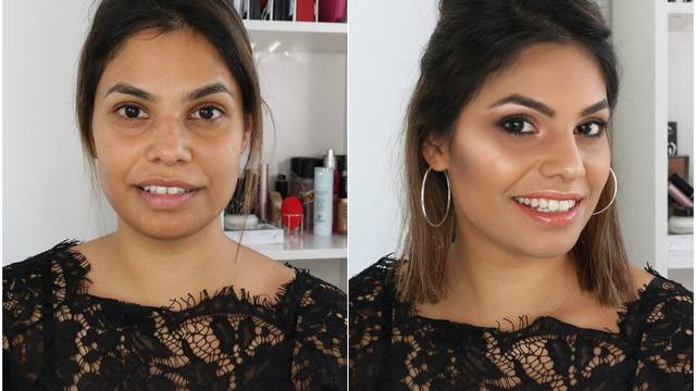 Make-up für den Roten Teppich: Vanessa schminkt sich den Look von Penélope Cruz