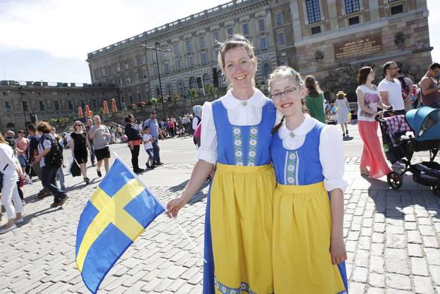 Schweden freut sich über das grosse Fest.