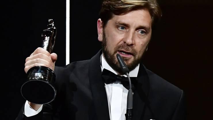 Der schwedische Filmregisseur und Drehbuchautor Ruben Östlund hat gerade den Europäischen Regie-Preis in Berlin bekommen.
