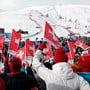 Der ausgefallene Super-G der Frauen von St. Moritz wird nach Italien verlegt.