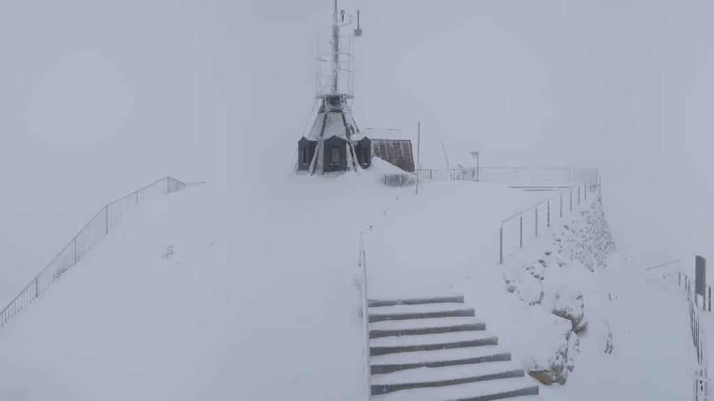 Winter-Comeback in den Alpen – maximal 10 Grad im Norden