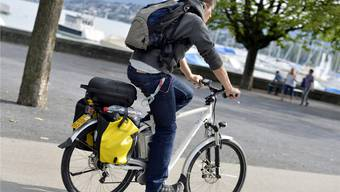 «Mit so etwas hatte ich in keiner Art und Weise gerechnet»: Roger fuhr mit dem E-Bike in die Schweiz zurück.Keystone