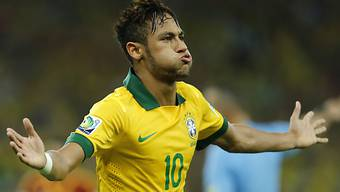 Neymar schoss für den WM-Gastgeber das Führungstor