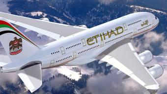 """Flugzeug der Gesellschaft """"Etihad"""" (Archiv)"""