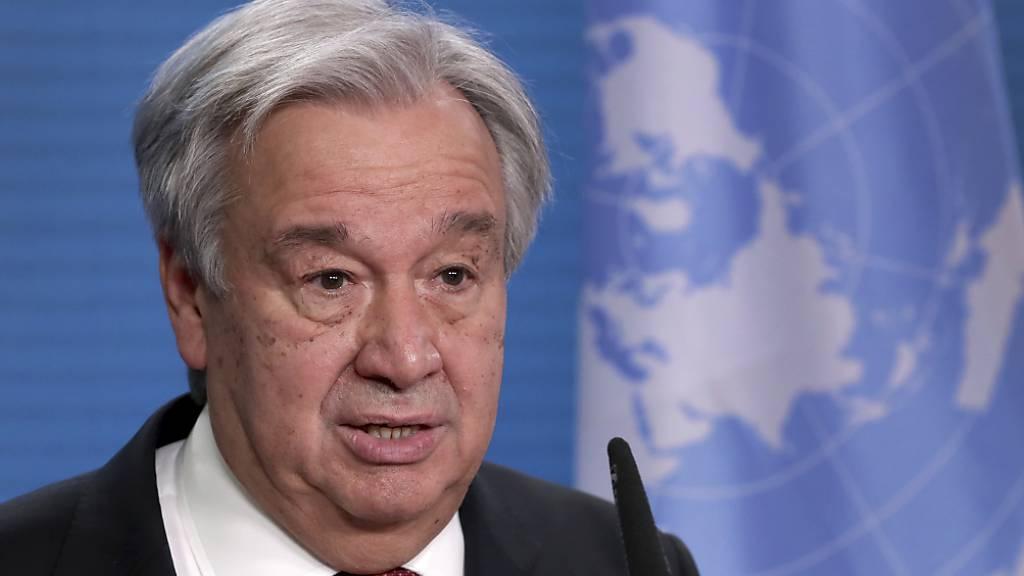 UN-Generalsekretär: Zukunft nach Corona muss klimafreundlich sein