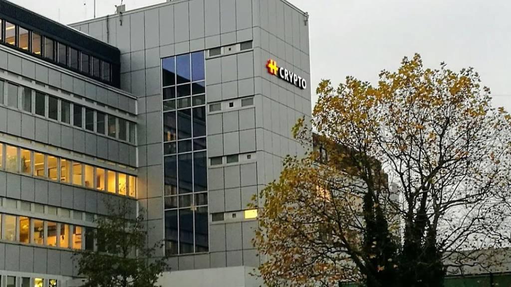 Die Firma Crypto AG in Steinhausen.