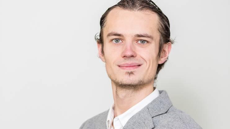 Artur Terekhov (JSVP) Einzelinitiant der Parkplatz-Initiative