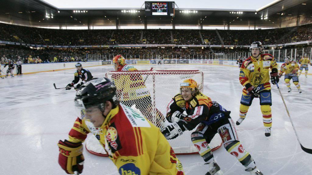 Im Januar 2007 traten die SCL Tigers schon einmal im Stade de Suisse gegen den SC Bern an