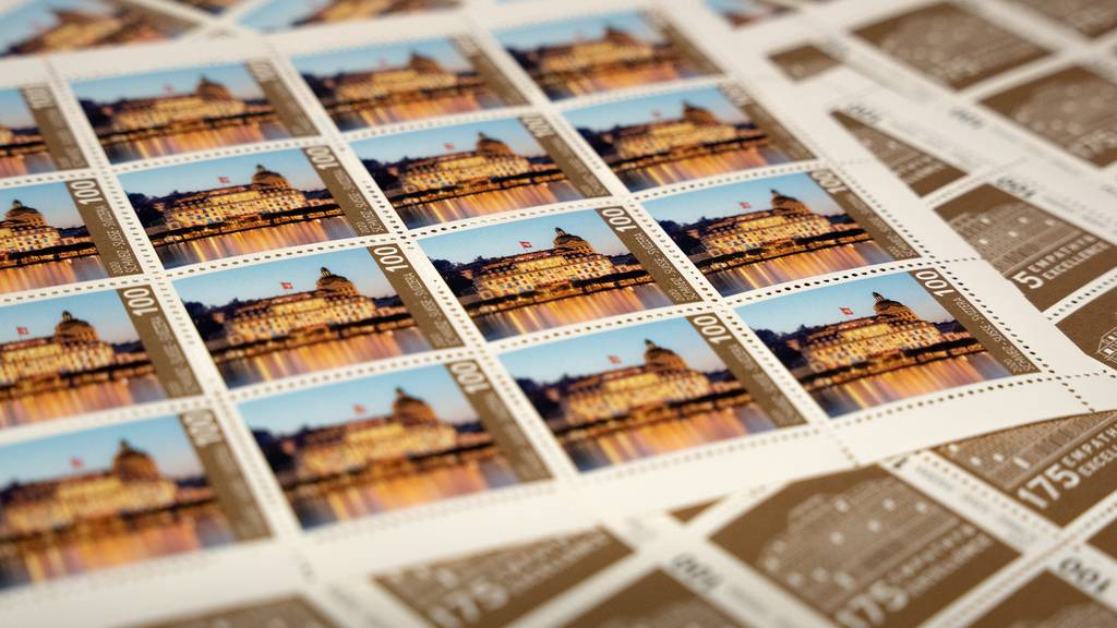 «Schweizerhof» lanciert eigene Briefmarke