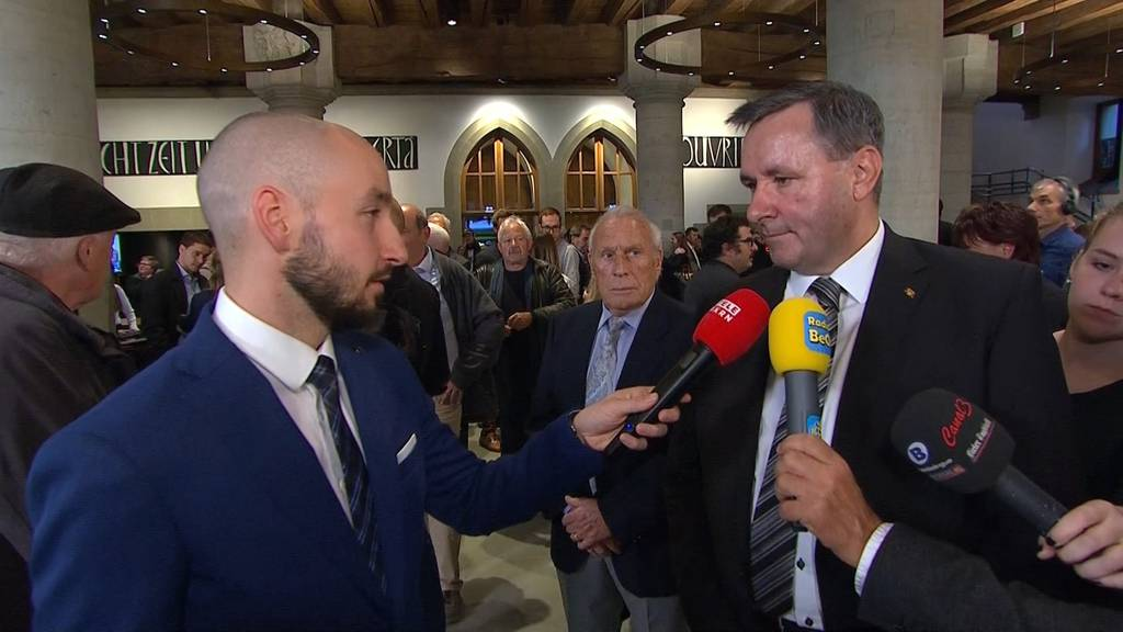 Werner Salzmann bedankt sich bei Wählern fürs Vertrauen