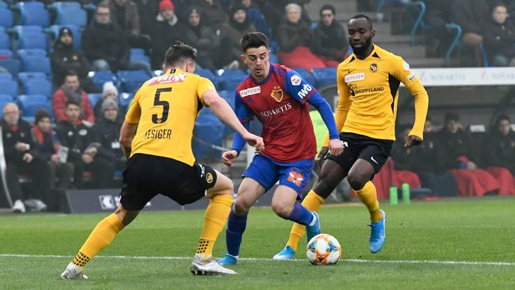 Beim 3:0 gegen YB machte Edon Zhegrova sein bestes Spiel für den FC Basel.
