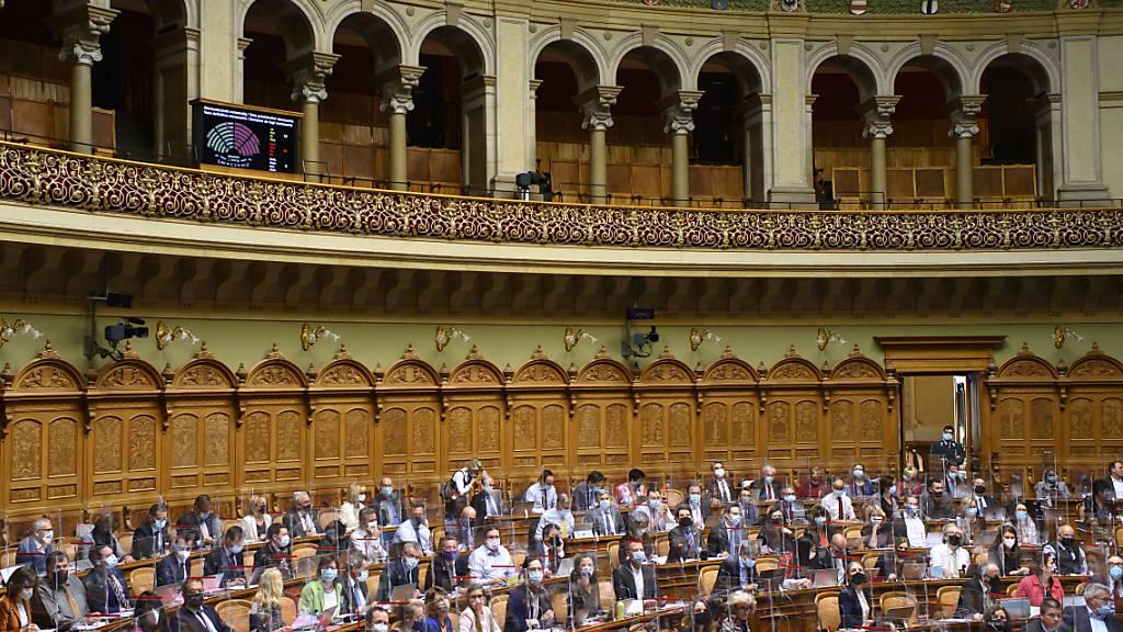 Um mehrere wichtige Dossiers vorwärtszubringen, kommt der Nationalrat am Montag zu einer dreitägigen Sondersession zusammen. (Archivbild)