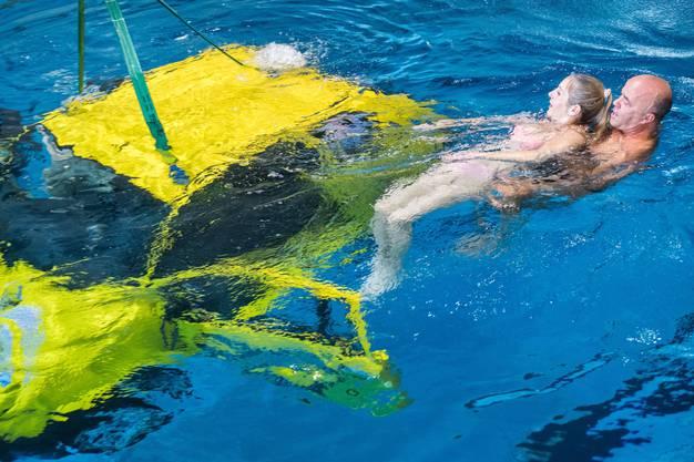 Diese Übungen des Ernstfalls sind eine Kooperation des Campus Sursee mit der Schweizerischen Lebensrettungsgesellschaft (SLRG), welche ihren Hauptsitz in Sursee hat.