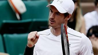Andy Murray wurde in der 3. Runde nicht gefordert