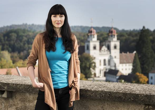 Filmemacherin Rebecca Panian in Rheinau.