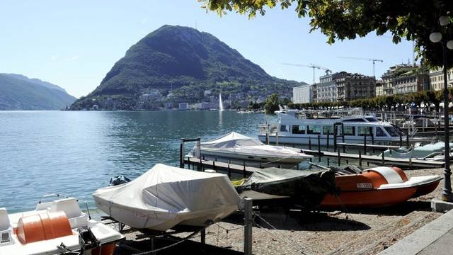 2011 spazierten weniger Touristen am Quai von Lugano (Archiv)