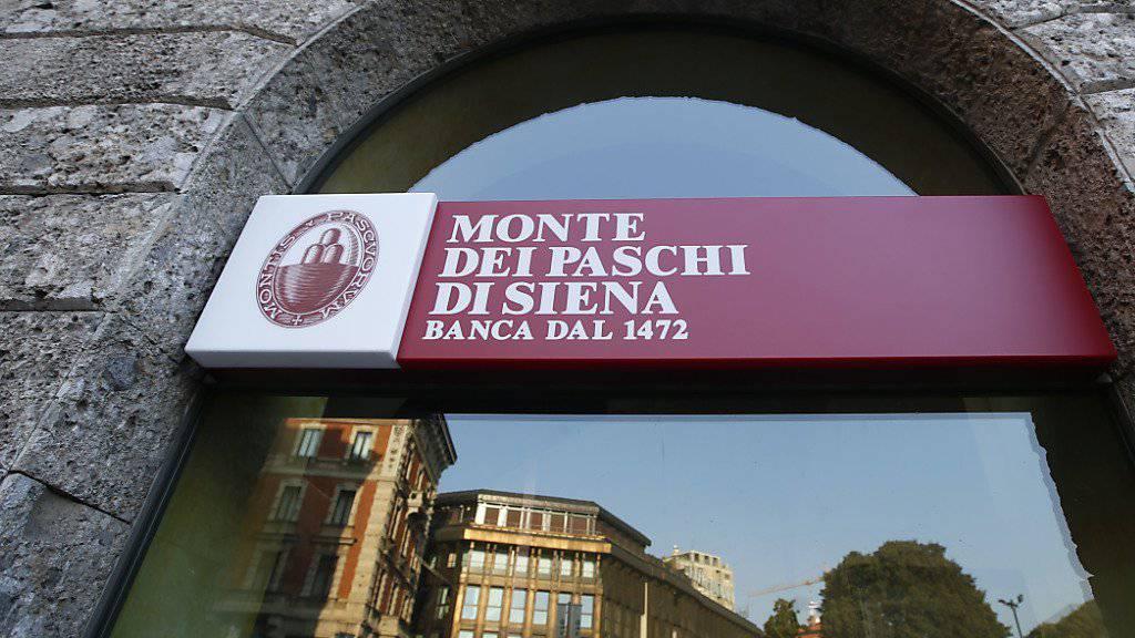 Die EZB hat einem Rettungsplan für die angeschlagene Bank Monte dei Paschi zugestimmt. (Archiv)