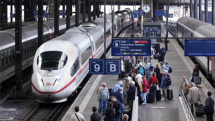 Einschränkungen im grenzüberschreitenden Bahnverkehr. (Archivbild)