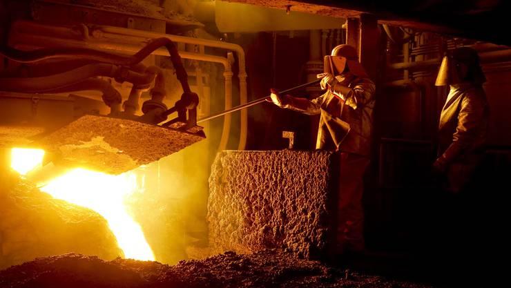 Für 138 Angestellte des Stahlwerks Gerlafingen gibt es Kurzarbeit. (Archiv)