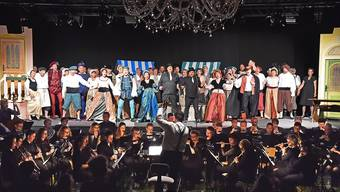 "Generalprobe ""Kiss me Kate"" in Egerkingen"