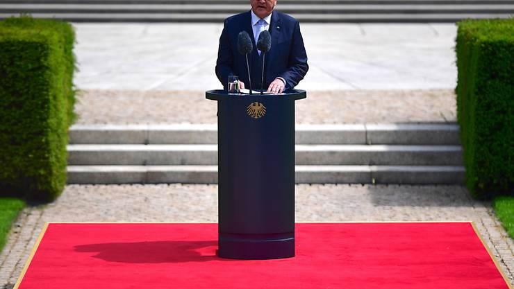 Der deutsche Präsident Frank-Walter Steinmeier hat Polen am Sonntagmorgen anlässlich des 80. Jahrestags des deutschen Überfalls auf das Land um Vergebung gebeten. (Archivbild)