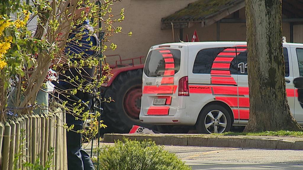 Gächlingen SH: Mann feuerte mehrere Schüsse ab