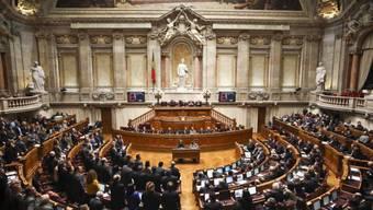Das Parlament in Lissabon wird über die Sparvorschläge entscheiden