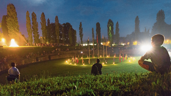 Die Bundesfeier im Amphitheater hat Tradition.