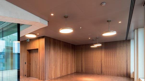 Wenn Räume eingekleidet werden für die perfekte Akustik