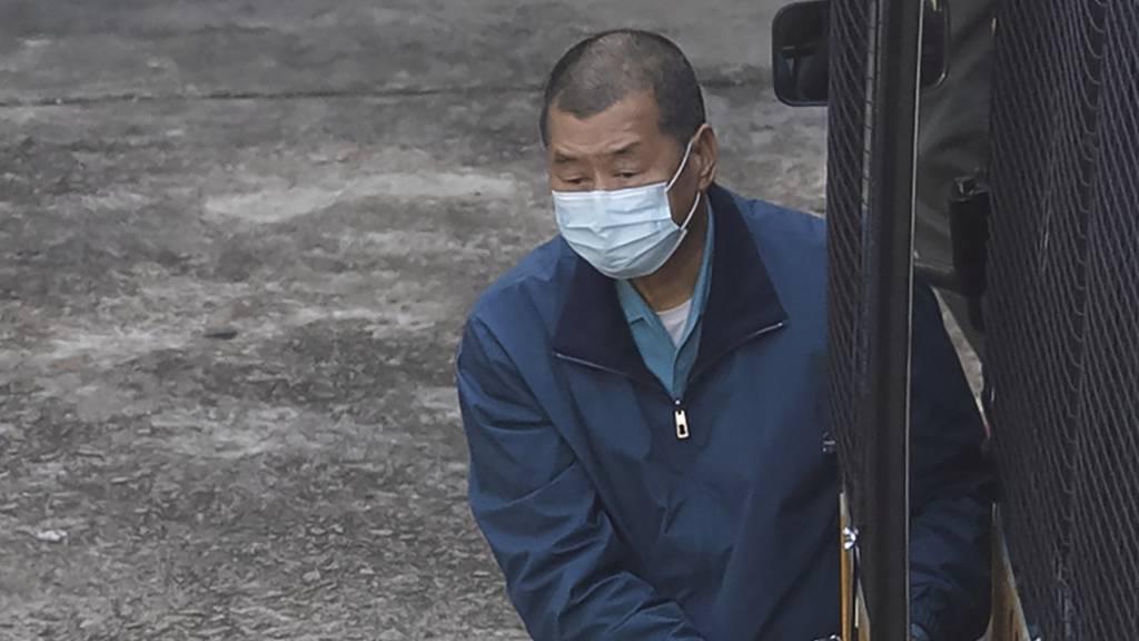 Hongkonger Medienmogul Jimmy Lai muss in Untersuchungshaft