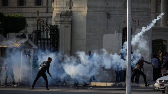 Neue Proteste in Ägypten gegen Demonstrationsverbot (Symbolbild)