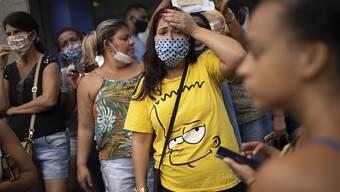 Brasilien hat die magische Zahl von 100'000 nachweislich Coronavirus-Infizierten überschritten. (Archivbild)