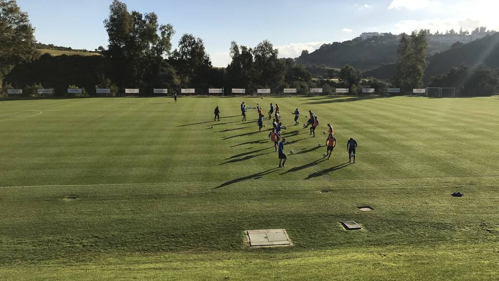 Der FCL im Trainingslager in Marbella